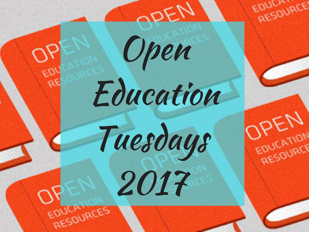 OpenEducationTuesdays2017