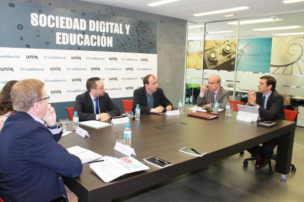 Unir Research co-organiza el Foro El Confidencial-UNIR sobre Sociedad Digital y Educación
