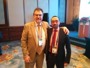 Con Alexander Khoroshilov, Director del UNESCO Institute of Information Technologies for Education, del cual UNIR es Delegación para España, Latam y Sur de Europa