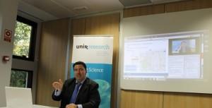 Sergio Ríos, especialista en divulgación científica ha explicado las aplicaciones de la geolocalización al aula