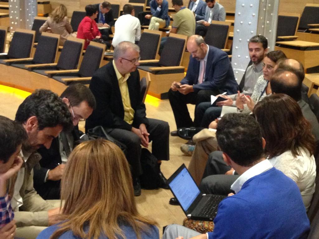 Mesa de Trabajo sobre Educación Digital en el la Jornada de la Red de Cátedras de Telefónica