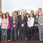 Foto de equipo durante la reunión con los Directores de los Grupos de Investigación 2015-2016