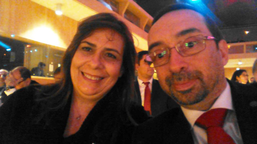 Con Ms. Narmine Nabulsi, CEO de Jordan Education Initiative (http://www.jei.org.jo)