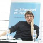 Fabio Nascimbeni en una reciente reunión entre el equipo de UNIR Research y el grupo de investigación en Tecnología Educativa, TELSOCK.