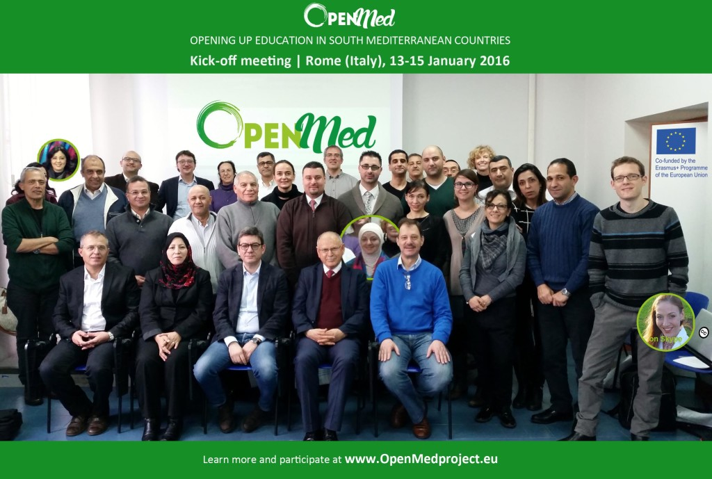 OpenMed Kick-Off Meeting in Rome