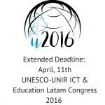 Extended Deadline- April, 11th