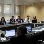 Imagen de la primera reunión de trabajo del Vicerrectorado de Transferencia y Tecnología
