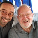 With Prof. Frederic Litto, president of ABED, and significant actor on distance education in Brazil and Latin-America