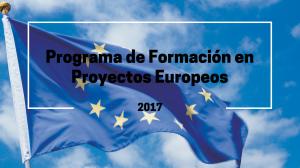 Icono-Programa de Formación en Proyectos Europeos 2017