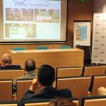 Rubén González shows SocialPlanet the serious game designed by the project