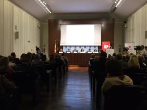 Presentation of the report La Universidad Española en Cifras