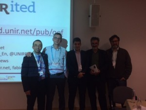 With Fabio Nascimbeni, Anthony Camilleri, Colin de la Higuera and Tel Amiel at the Open Educators Factory workshop