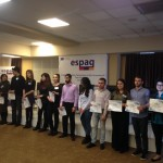 Awards to the armenian students for its  commitement in the dissemination of the project in their universities