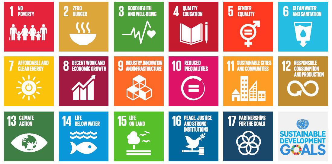 Objetivos de desarrollo sostenible (SDGs)