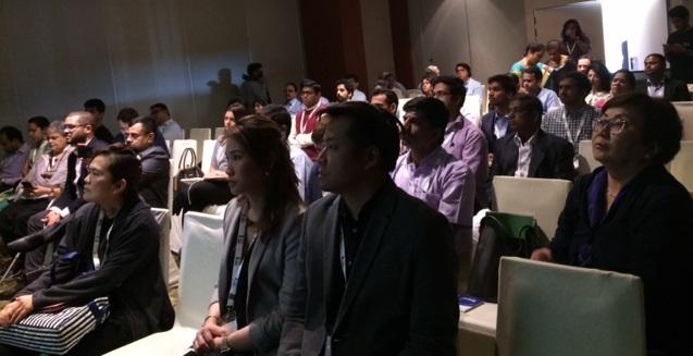 Participantes en congreso sobre tecnología e innovación educativas