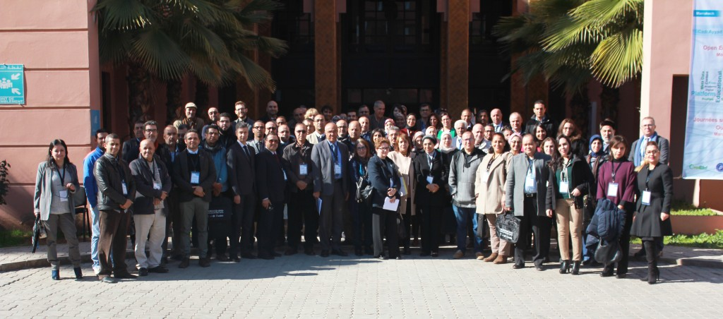 Participants in the Morocco Open Education Day 2018