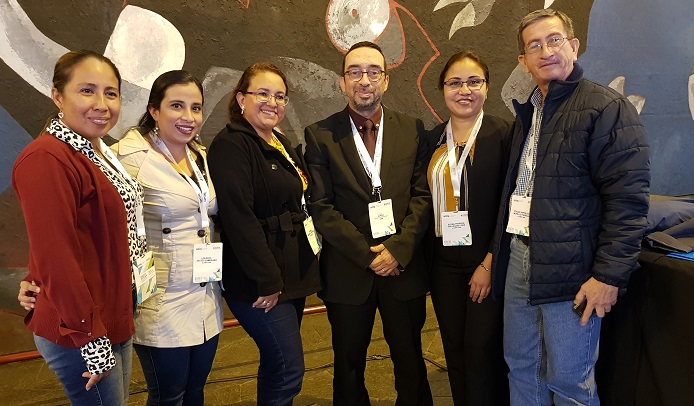 With UNIR students in Quito